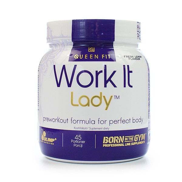 Olimp Work IT Lady proszek  lemon 337, 5g