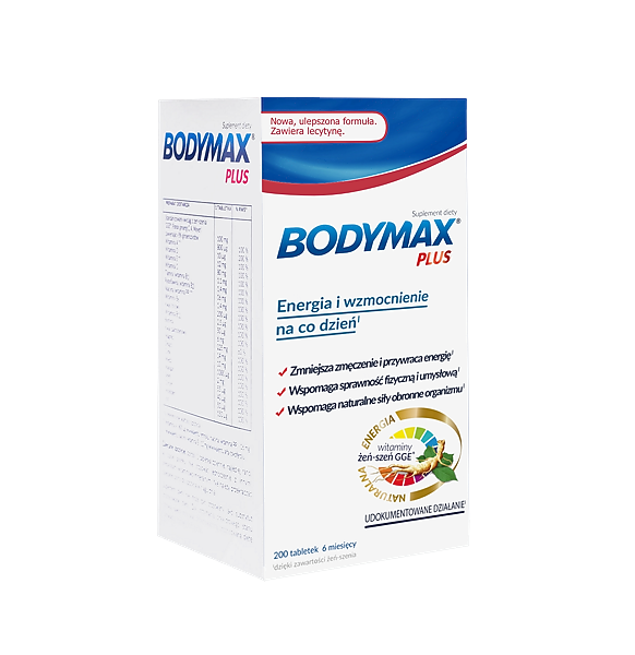 Bodymax Plus x 200 tabletek
