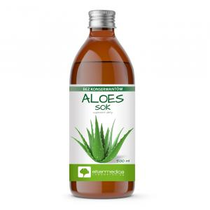 Aloes Sok z aloesu 500ml ALTERMEDICA