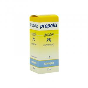 Propolis 7% krople do picia 20g