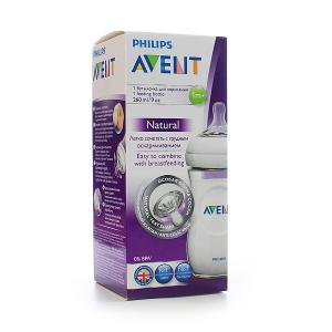 AVENT Butelka 260ml NATURAL  1szt