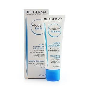 BIODERMA ATODERM NUTRITIVE Krem odżywczy  40ml - data ważnosci 06.2018