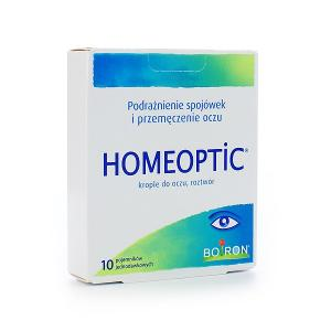 Boiron HOMEOPTIC krople do oczu 10 minimsów