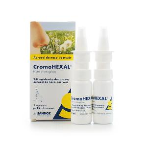 Cromohexal Nasen-spray  20mg/ml aerozol do nosa    30 ml