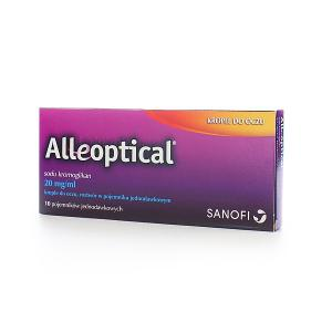 Alleoptical krople do oczu 20mg/ml x 10 szt.