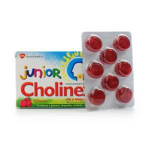 Cholinex Junior pastylki do ssania 16szt