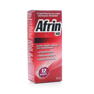 Afrin ND  0,05% (0,5mg/ml), aerozol do  nosa 15ml
