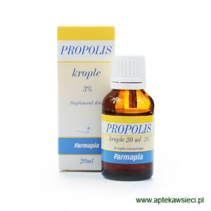 Propolis 3% krople 20ml do picia