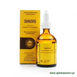 SANUM Sanuvis krople 100 ml