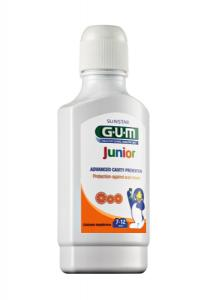 SUNSTAR GUM Junior Płyn do płukania jamy ustnej 300ml (7-12 lat)