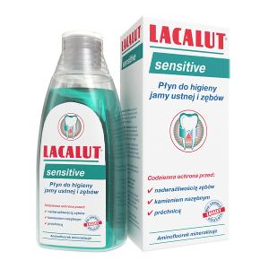 Płyn do higieny jamy ustej LACALUT SENSITIVE 300 ml