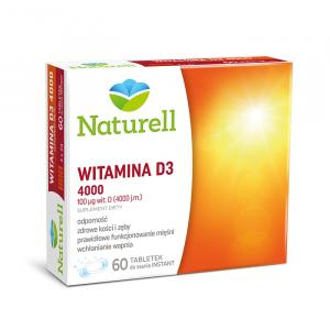 Witamina D3 4000 x 60 tabletek do ssania NATURELL