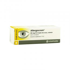 Allergocrom krople do oczu 0,02 g/1ml 10 ml