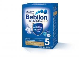 Bebilon 5 Junior z Pronutra+ proszek 1200g  (2 x 600g)