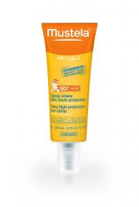 MUSTELA SUN SPF 50+  Spray ochronny 200 ml