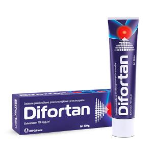 Difortan żel 100mg/g  100g