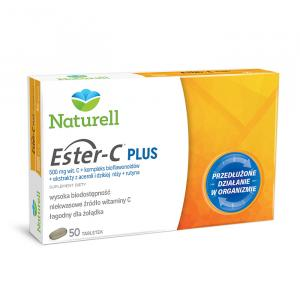 Ester-C Plus (500mg)  x 50 tabletek NATURELL