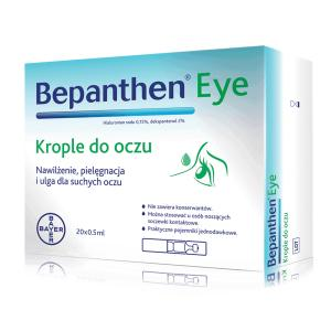 Bepanthen eye krople do oczu 0.5ml 20 szt