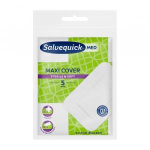 Sterylny plaster SALVEQUICK Med MAXI COVER 5 szt.
