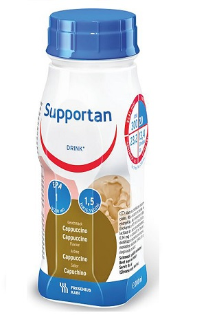 Supportan DRINK | Smak cappuccino 4x200ml