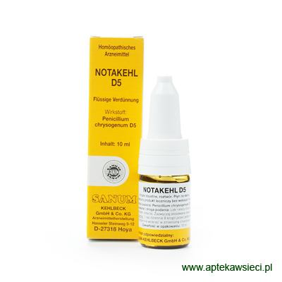 SANUM Notakehl D5 krople 10 ml