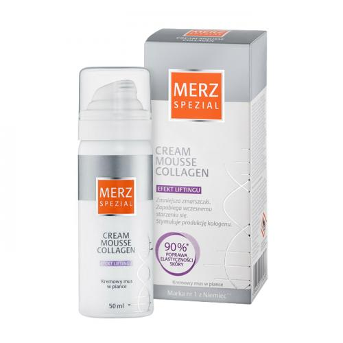 Merz Spezial Mousse Collagen Krem - Efekt liftingu 50ml