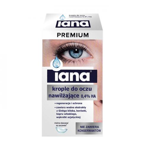 IANA Premium 0,4% HA krople do oczu 10ml