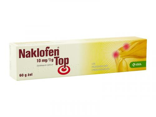Naklofen Top 10mg/1g żel  60 g