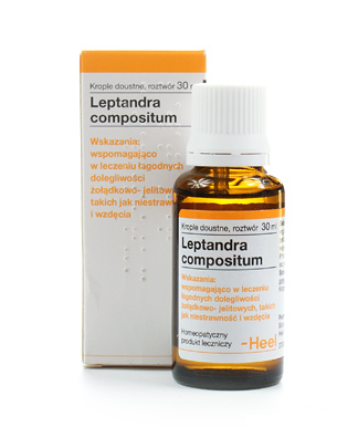 HEEL Leptandra compositum  krople 30 ml